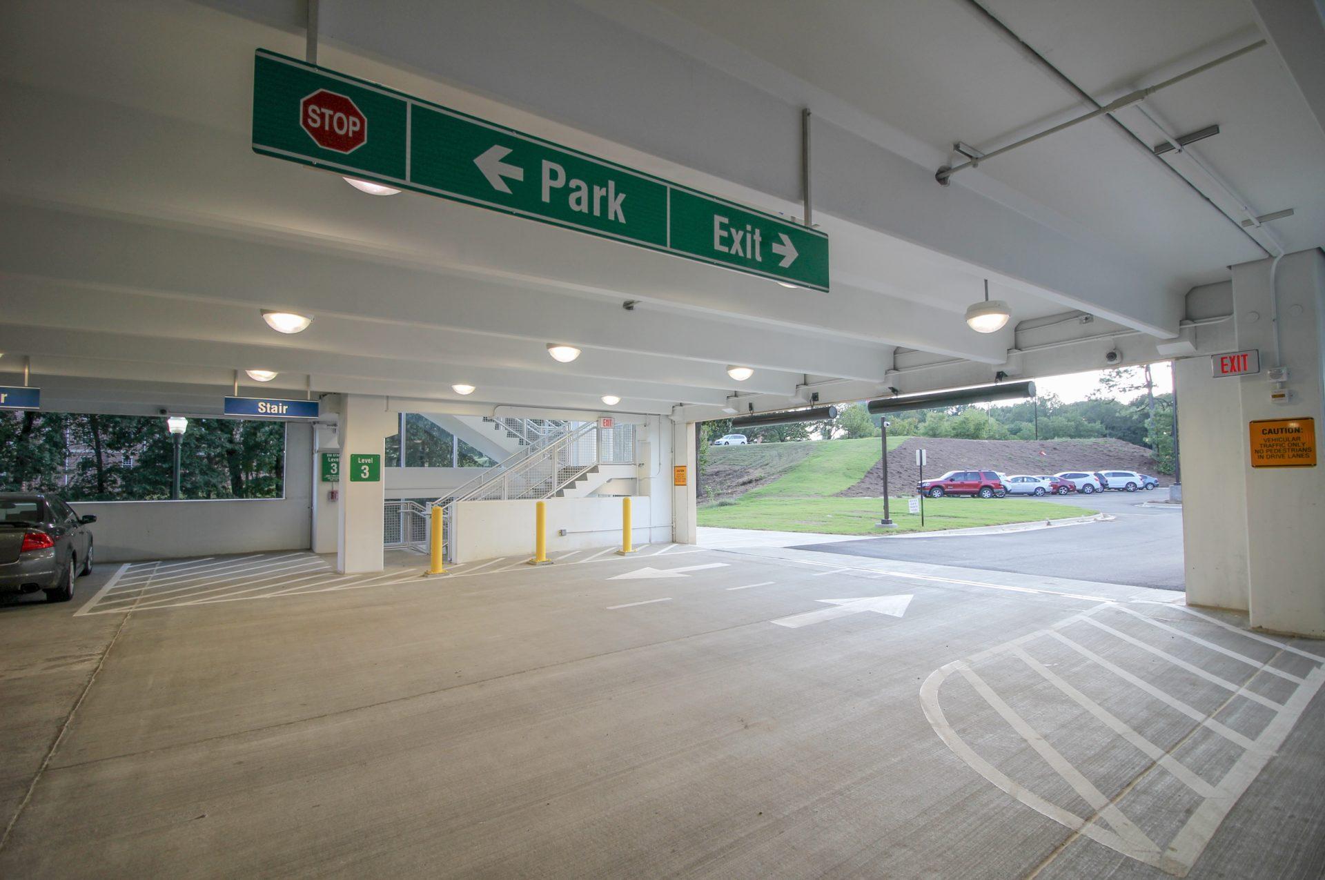 Parking Garage precast concrete