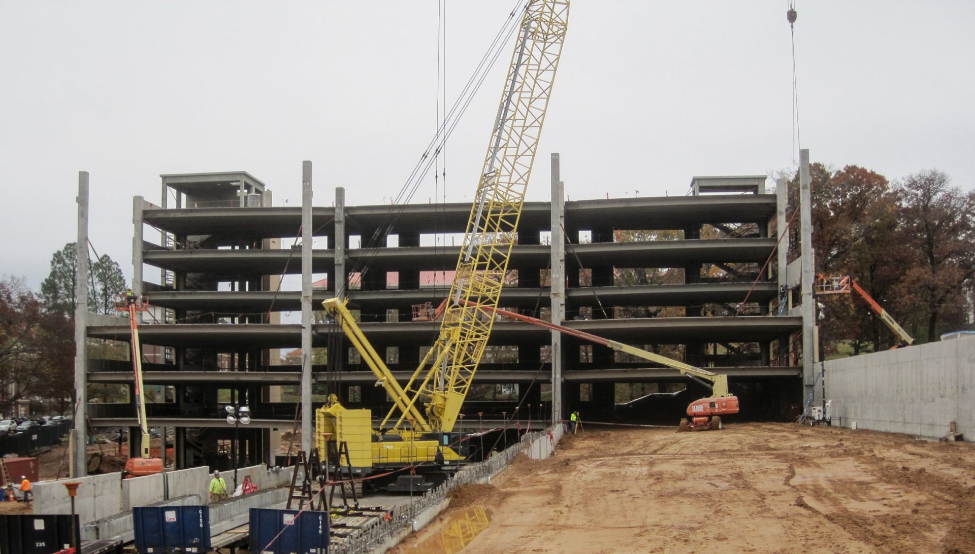 University of Mississippi North Parking Structure