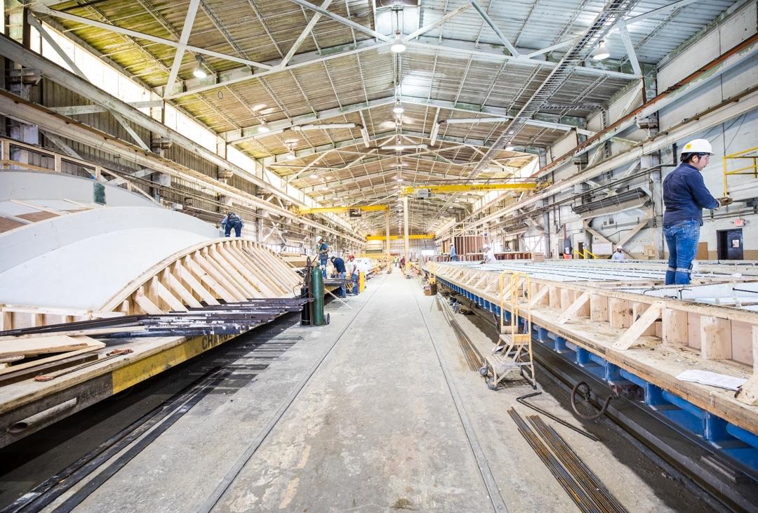 Gate Precast Pre-Fabrication facility, Hillsboro, TX