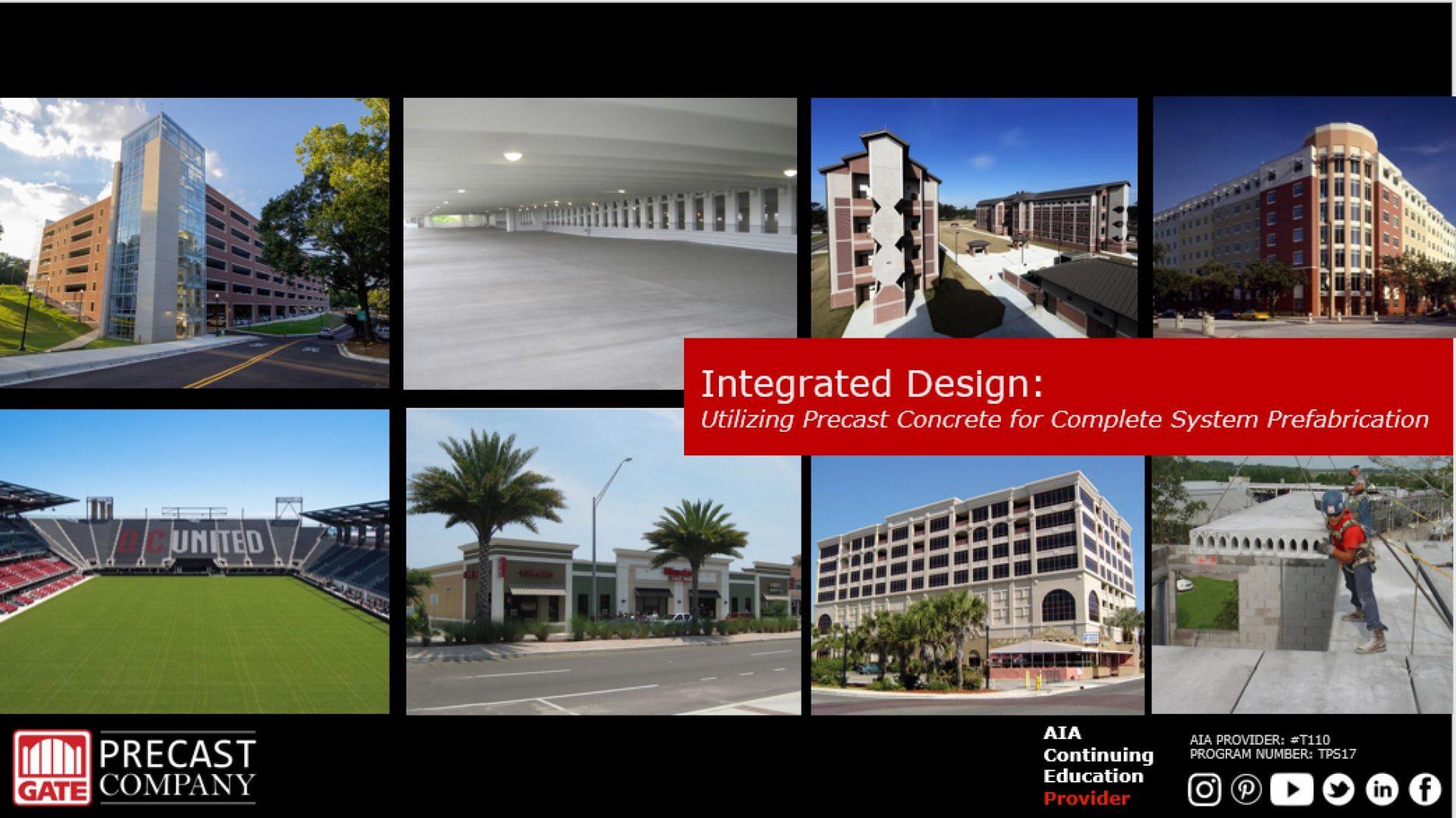 Integrated Design: Utilizing Precast Concrete for Complete System Prefabrication