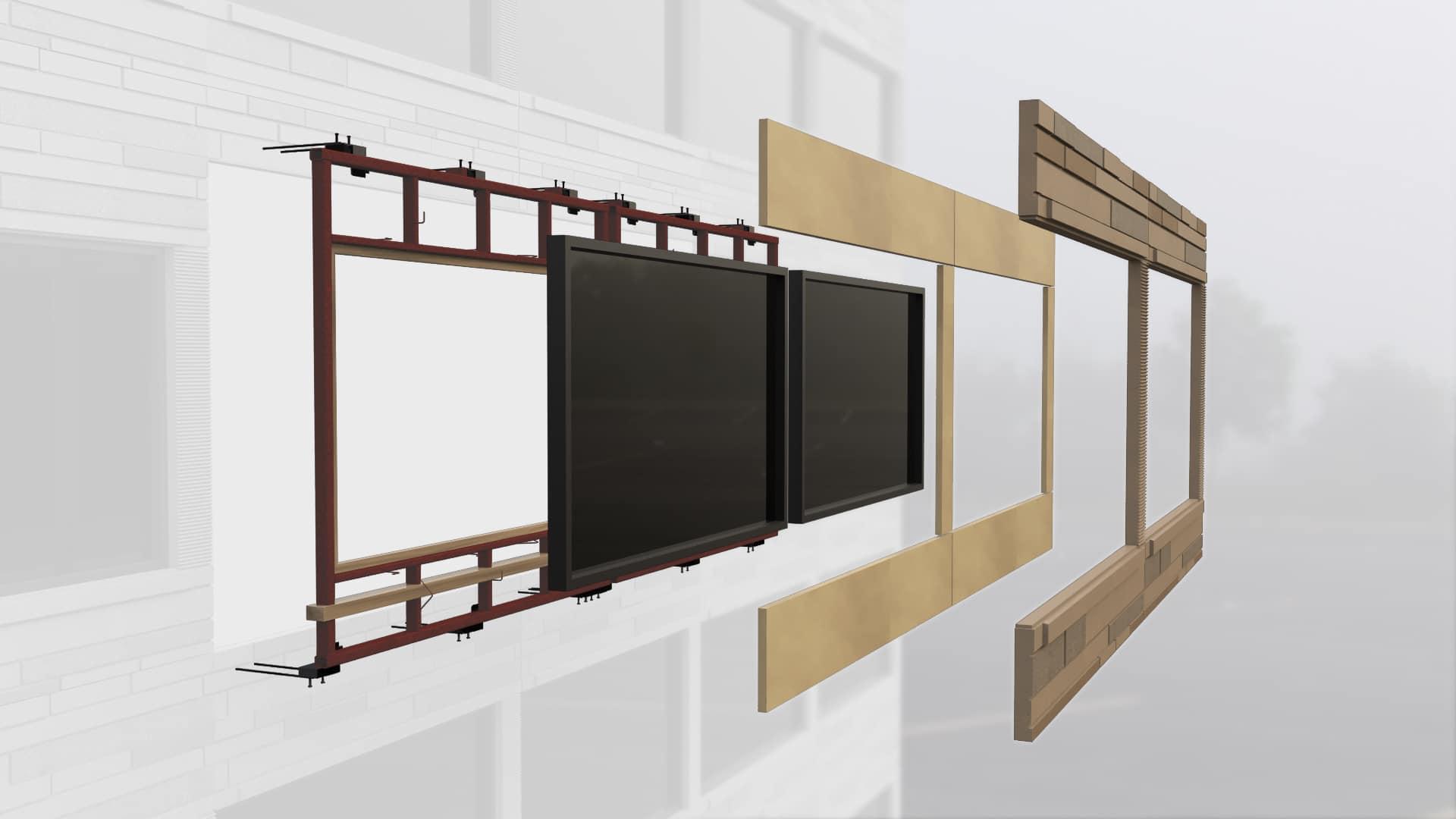GateLite, a sole source facade system